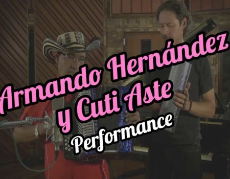 Armando Hernández with Cuti Aste