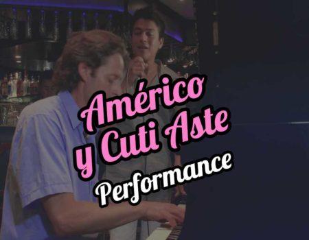 Américo and Cuti Aste