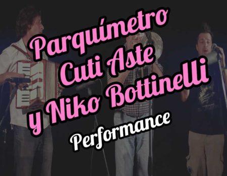 Parquímetro, Cuti Aste y Niko Bottinelli