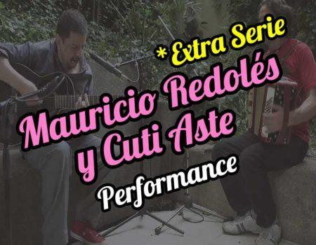Mauricio Redolés and Cuti Aste